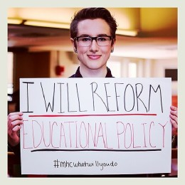 I will reform educational policy.